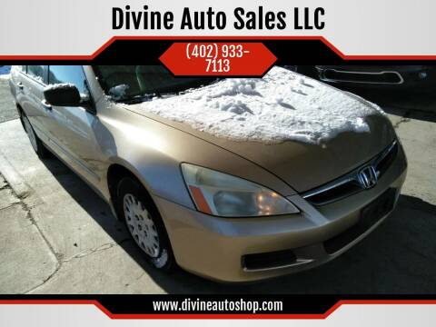 2006 Honda Accord for sale at Divine Auto Sales LLC in Omaha NE