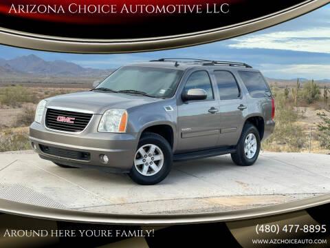 2012 GMC Yukon for sale at Arizona Choice Automotive LLC in Mesa AZ