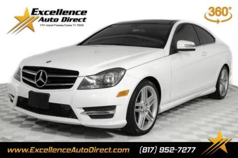 2015 Mercedes-Benz C-Class for sale at Excellence Auto Direct in Euless TX