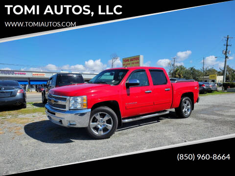 2012 Chevrolet Silverado 1500 for sale at TOMI AUTOS, LLC in Panama City FL