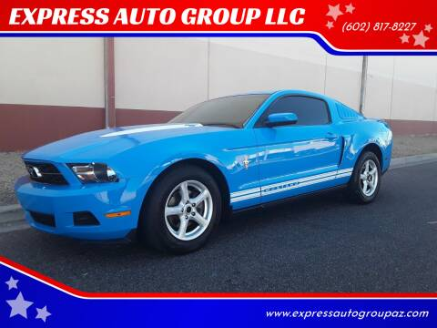2010 Ford Mustang for sale at EXPRESS AUTO GROUP in Phoenix AZ