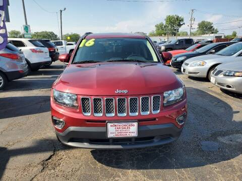 2016 Jeep Compass for sale at North Chicago Car Sales Inc in Waukegan IL