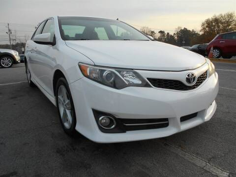 2012 Toyota Camry for sale at AutoStar Norcross in Norcross GA