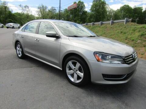 2013 Volkswagen Passat for sale at Specialty Car Company in North Wilkesboro NC