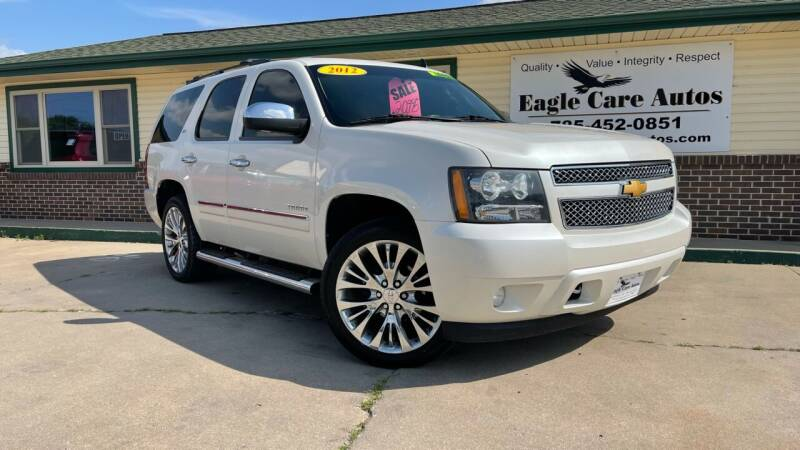2012 Chevrolet Tahoe for sale at Eagle Care Autos in Mcpherson KS