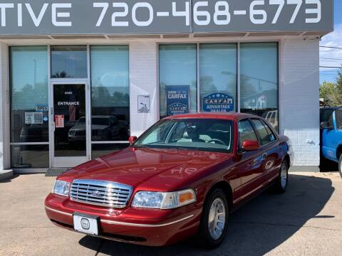 1998 Ford Crown Victoria for sale at Shift Automotive in Denver CO