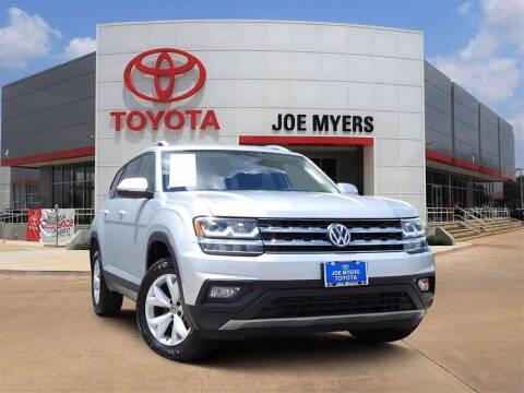 2019 Volkswagen Atlas for sale at Joe Myers Toyota PreOwned in Houston TX