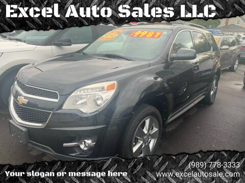 2012 Chevrolet Equinox for sale at Excel Auto Sales LLC in Kawkawlin MI