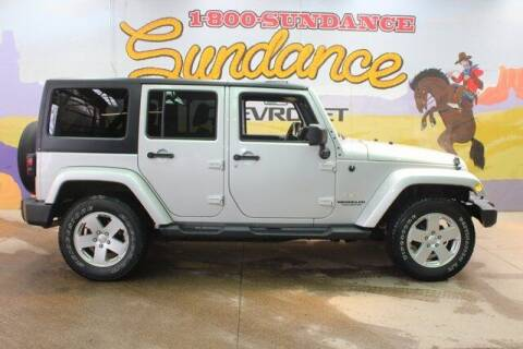 2012 Jeep Wrangler Unlimited for sale at Sundance Chevrolet in Grand Ledge MI