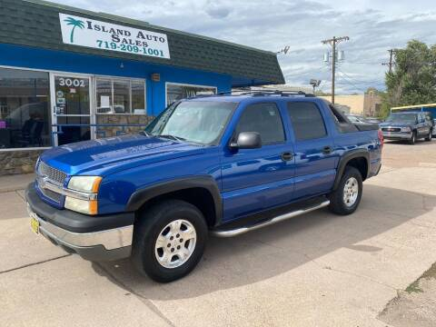 2003 Chevrolet Avalanche for sale at Island Auto Sales in Colorado Springs CO