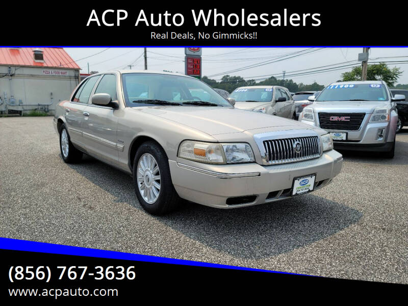 2010 Mercury Grand Marquis for sale at ACP Auto Wholesalers in Berlin NJ