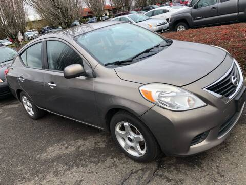2012 Nissan Versa for sale at Blue Line Auto Group in Portland OR