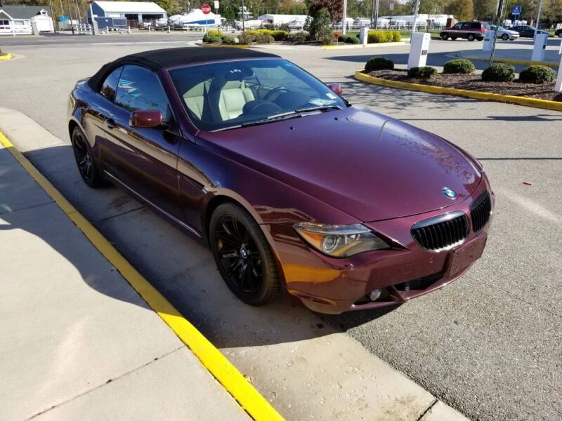 2006 BMW 6 Series for sale at RVA Automotive Group in North Chesterfield VA