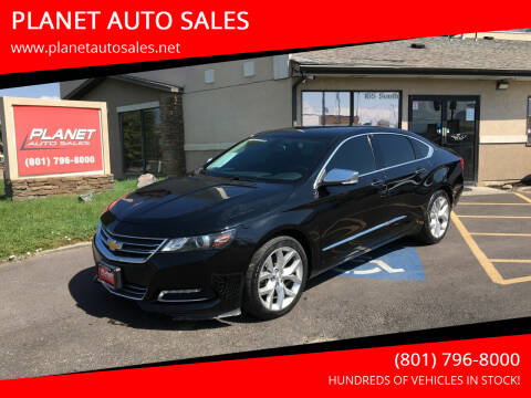 2018 Chevrolet Impala for sale at PLANET AUTO SALES in Lindon UT