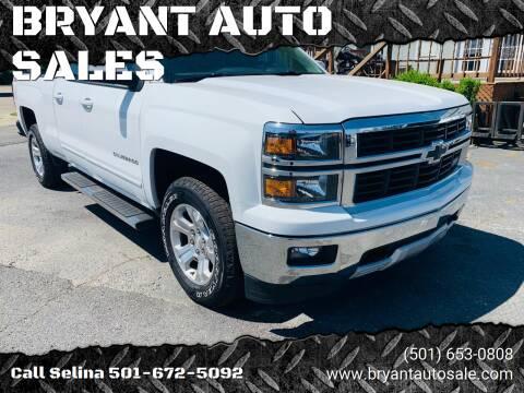 2015 Chevrolet Silverado 1500 for sale at BRYANT AUTO SALES in Bryant AR