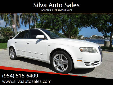 2007 Audi A4 for sale at Silva Auto Sales in Pompano Beach FL