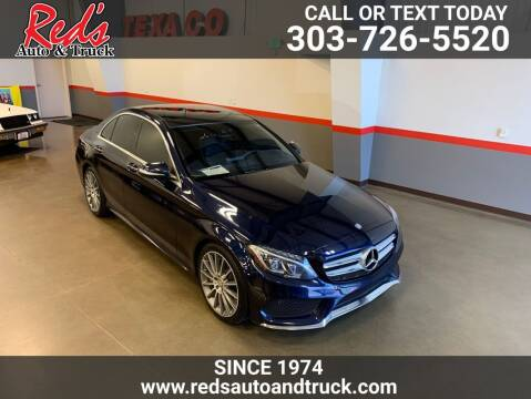 2015 Mercedes-Benz C-Class for sale at Red's Auto and Truck in Longmont CO