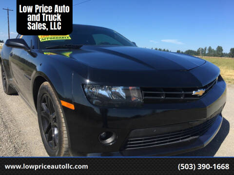 2014 Chevrolet Camaro for sale at Low Price Auto and Truck Sales, LLC in Brooks OR