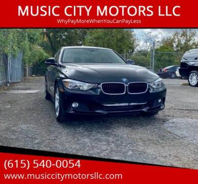 2015 BMW 3 Series for sale at MUSIC CITY MOTORS LLC in Nashville TN