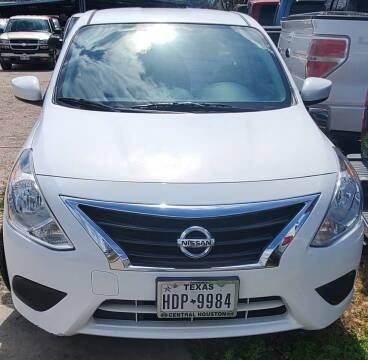 2016 Nissan Versa for sale at Ody's Autos in Houston TX