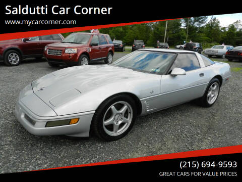 1996 Chevrolet Corvette for sale at Saldutti Car Corner in Gilbertsville PA