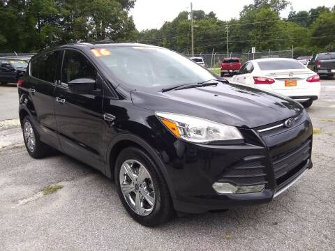 2016 Ford Escape for sale at Import Plus Auto Sales in Norcross GA