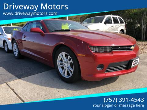 2014 Chevrolet Camaro for sale at Driveway Motors in Virginia Beach VA