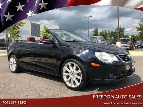 2010 Volkswagen Eos for sale at Freedom Auto Sales in Chantilly VA