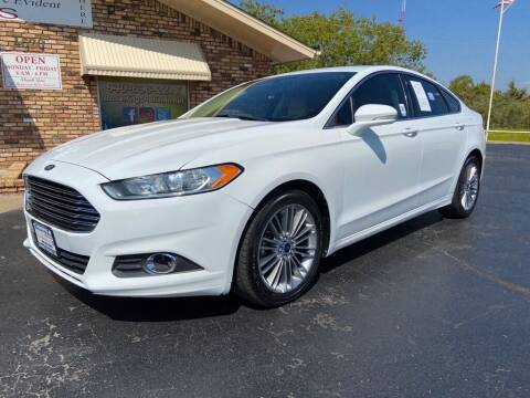 2014 Ford Fusion for sale at Browning's Reliable Cars & Trucks in Wichita Falls TX