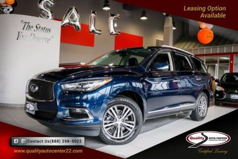 2018 Infiniti QX60 for sale at Quality Auto Center in Springfield NJ