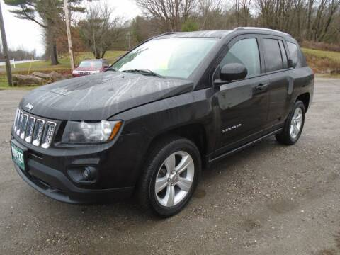 2016 Jeep Compass for sale at Wimett Trading Company in Leicester VT