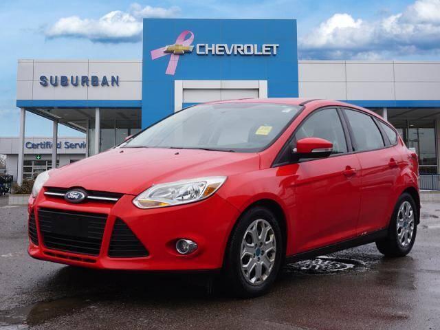 2012 Ford Focus for sale at Suburban Chevrolet of Ann Arbor in Ann Arbor MI