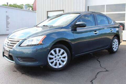 2015 Nissan Sentra for sale at Platinum Motors LLC in Reynoldsburg OH