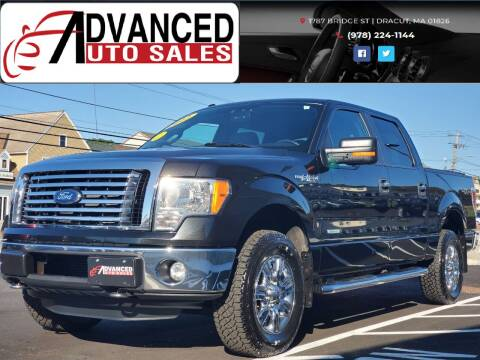 2012 Ford F-150 for sale at Advanced Auto Sales in Dracut MA