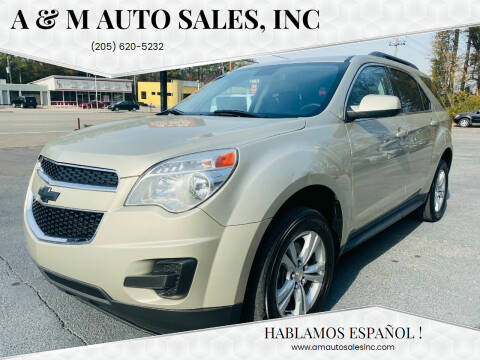 2015 Chevrolet Equinox for sale at A & M Auto Sales, Inc in Alabaster AL