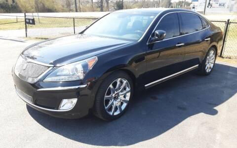 2013 Hyundai Equus for sale at Mathews Used Cars, Inc. in Crawford GA