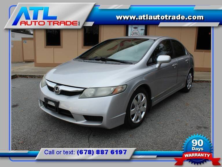2010 Honda Civic for sale at ATL Auto Trade, Inc. in Stone Mountain GA
