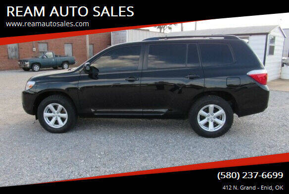 2008 Toyota Highlander for sale at REAM AUTO SALES in Enid OK