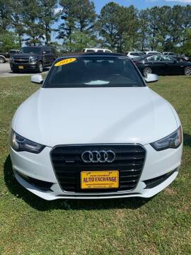 2013 Audi A5 for sale at Greenville Motor Company in Greenville NC