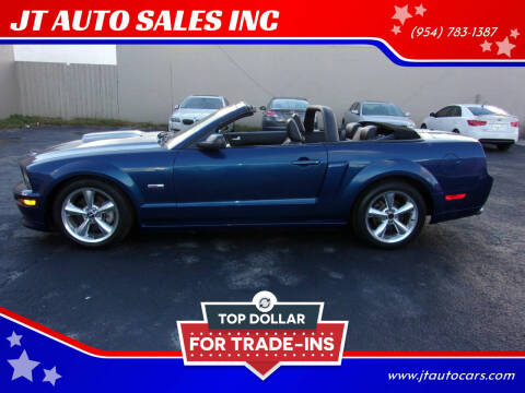 2008 Ford Shelby GT500 for sale at JT AUTO SALES INC in Oakland Park FL