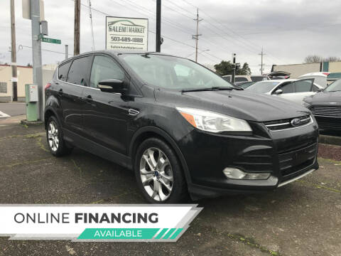 2013 Ford Escape for sale at Salem Auto Market in Salem OR