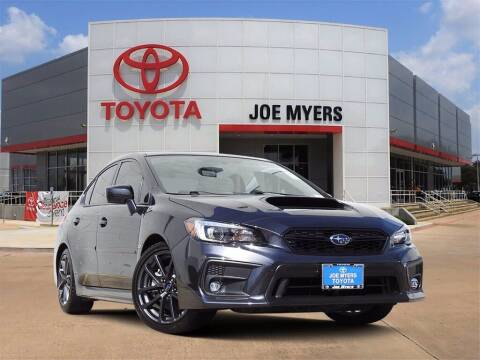 2019 Subaru WRX for sale at Joe Myers Toyota PreOwned in Houston TX