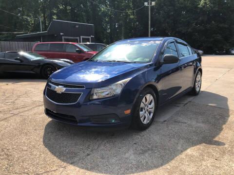 2012 Chevrolet Cruze for sale at Oceana Motors in Virginia Beach VA
