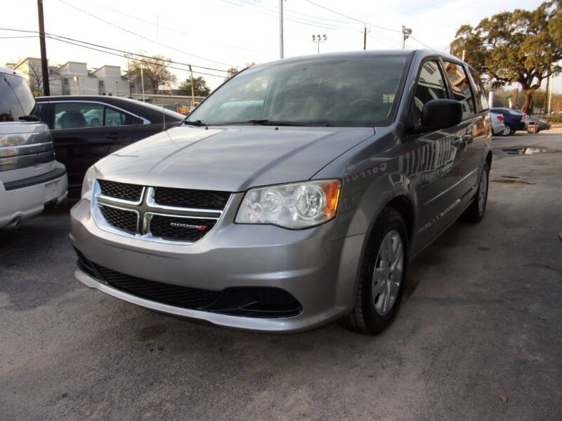2014 Dodge Grand Caravan for sale at Carfast in Houston TX