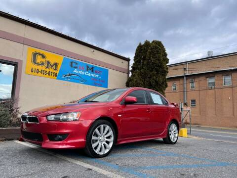 2008 Mitsubishi Lancer for sale at Car Mart Auto Center II, LLC in Allentown PA