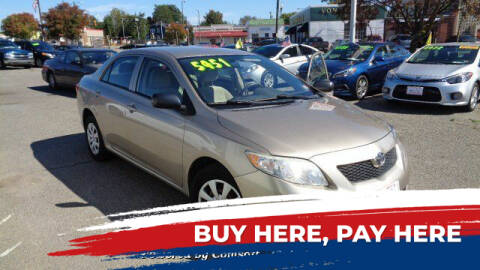 2009 Toyota Corolla for sale at RVA MOTORS in Richmond VA
