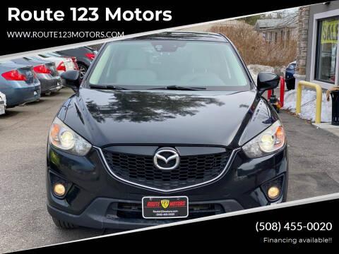 2014 Mazda CX-5 for sale at Route 123 Motors in Norton MA