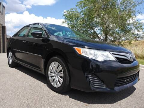 2012 Toyota Camry for sale at AUTOMOTIVE SOLUTIONS in Salt Lake City UT