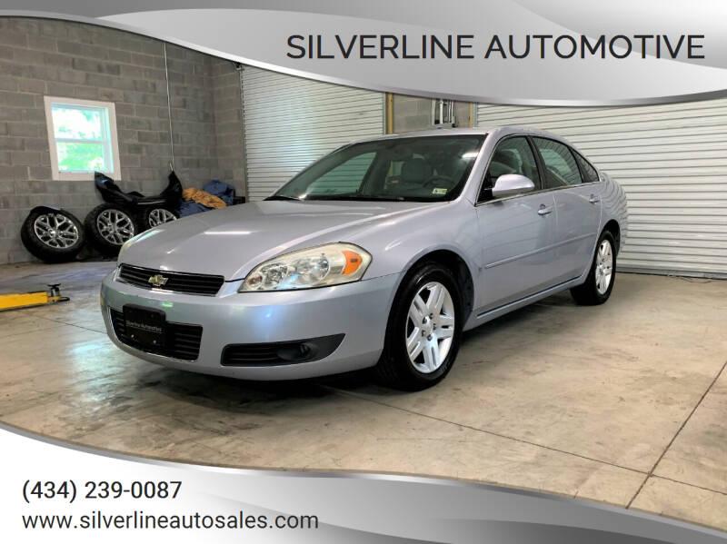 2006 Chevrolet Impala for sale at Silverline Automotive in Lynchburg VA