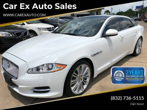 2011 Jaguar XJL for sale at Car Ex Auto Sales in Houston TX